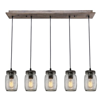 5-Light Kitchen Island Pendant