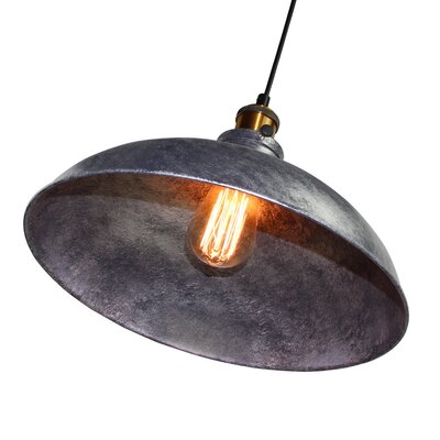 1-Light Inverted Pendant