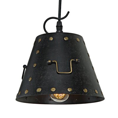 Industrial 1-Light Pendant Light