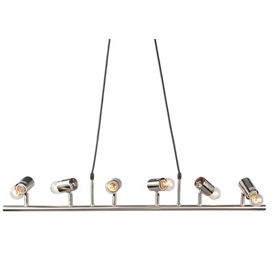 6-Light LED Kitchen Island Pendant