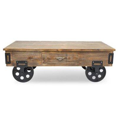 Berberia Industrial Trolley Coffee Table