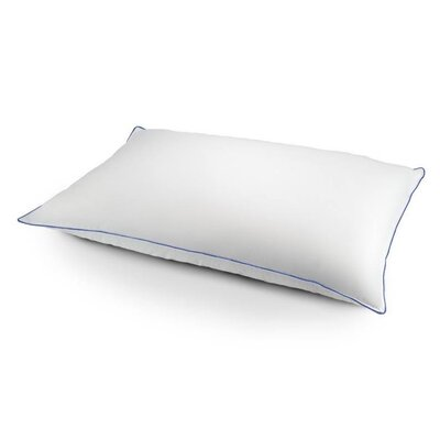 Medium Bed Duck Chamber Feather and Down Pillow Size: King