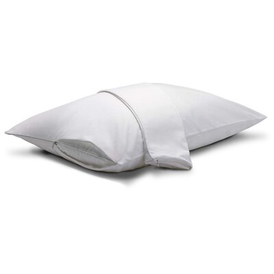 Zippered Pillow Protector Size: King