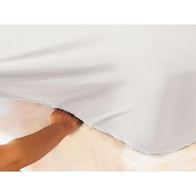 400 Thread Count 100% Cotton Fitted Top Sheet Set Size: Full