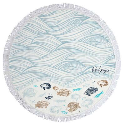 Oceanic Petite Beach Towel