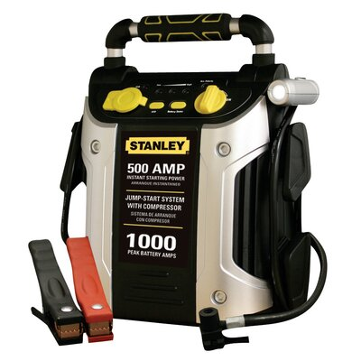 STANLEY TOOLS 500 Amp Jump Starter with Compressor at Sears.com