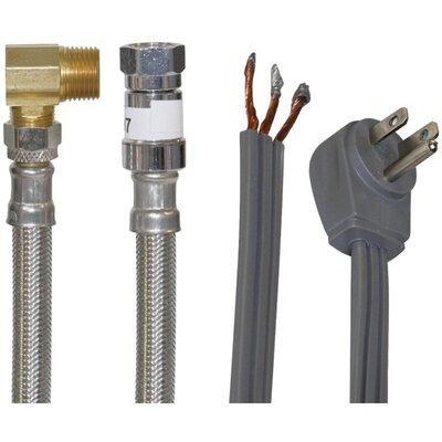 6 Braided Stainless Steel Dishwasher Installation Kit