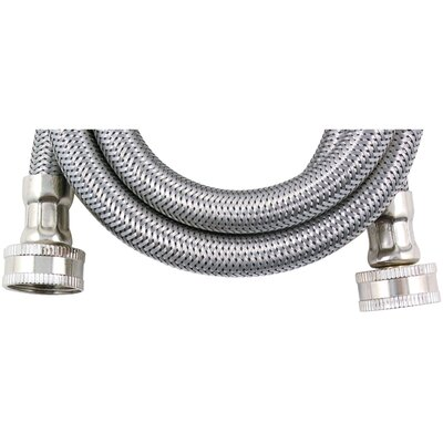 8 Braided Stainless Steel Washing Machine Hose