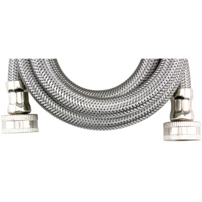 5 Braided Stainless Steel Washing Machine Hose