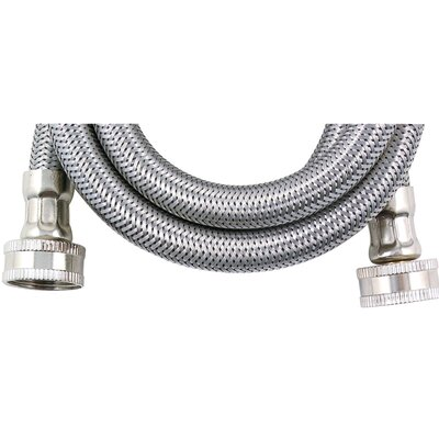 4 Braided Stainless Steel Washing Machine Hose