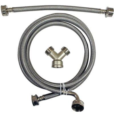 Braided Stainless Steel Steam Dryer Installation Kit
