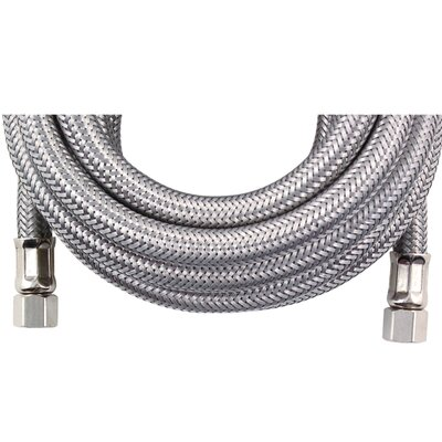 10 Braided Stainless Steel Ice Maker Hose