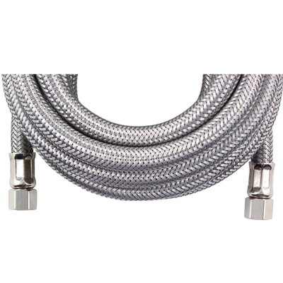 15 Braided Stainless Steel Ice Maker Hose