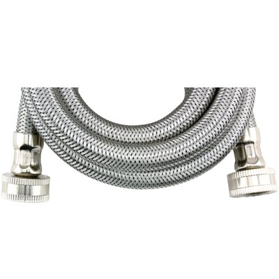 6 Braided Stainless Steel Washing Machine Hose