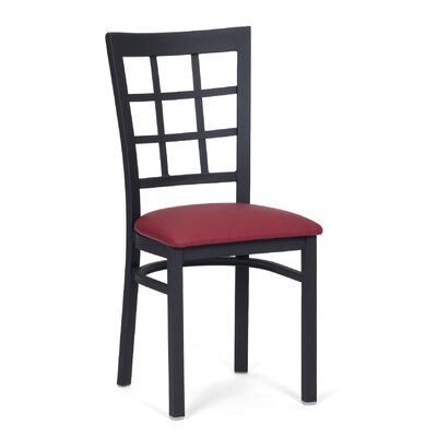 Side Chair (Set of 2) Upholstery: Red