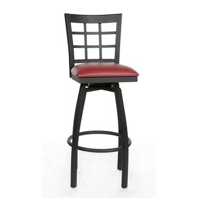 31 Swivel Bar Stool Upholstery: Sage