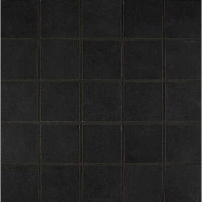 Studio 12 x 12 Porcelain Mosaic Tile in Midnight