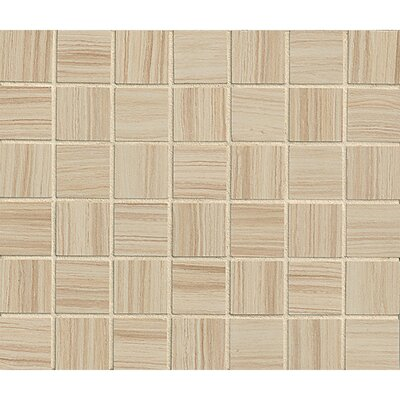 Rowe 1.5 x 1.5 Porcelain Mosaic Tile in Doe