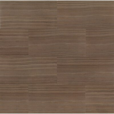 Rowe 12 x 24 Porcelain Field Tile in Wenge Lappato Semi-Polished