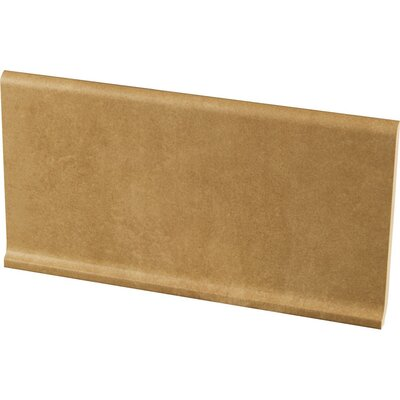 Studio 12 x 6 Cove Base Tile Trim in Terrace