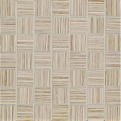 Refine 1.5 x 1.5 Porcelain Mosaic Tile in Overcoat