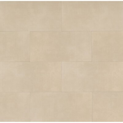 Studio 12 x 24 Porcelain Field Tile in Latte