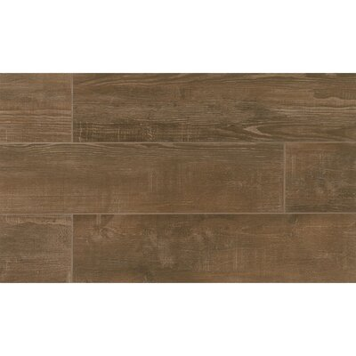 Hamptons 8 x 36 Porcelain Wood Tile in Rustic