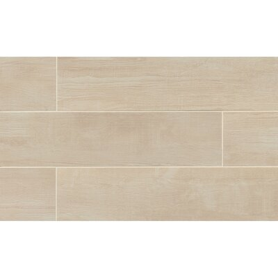 Hamptons 8 x 36 Porcelain Wood Tile in Sand