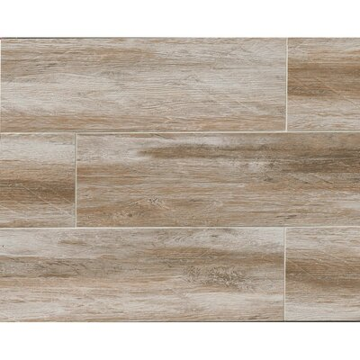 Sun Valley 8 x 24 Porcelain Wood Tile in Lake House