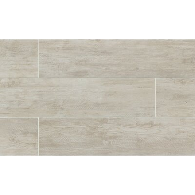 Santa Monica 8 x 24 Porcelain Wood Tile in Ocean Park