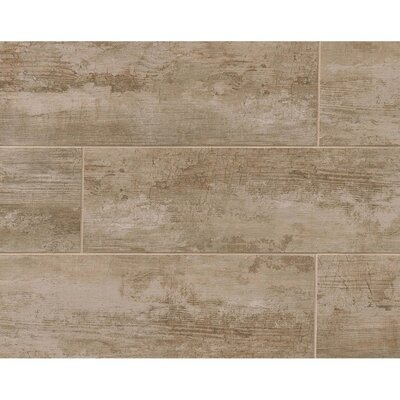 Sonoma 8 x 24 Porcelain Wood Tile in Vallejo