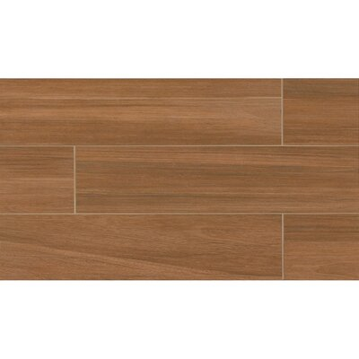 Austin 8 x 36 Porcelain Wood Tile in Fallen Leaf