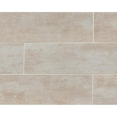 Sonoma 8 x 24 Porcelain Wood Tile in Mission