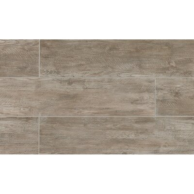 Santa Monica 8 x 24 Porcelain Wood Tile in 3rd Street