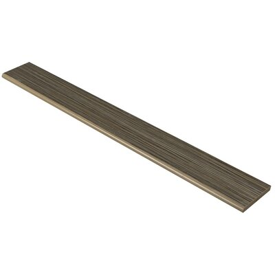 Refine 24 x 3 Bullnose Tile Trim in Pinstripe Polished