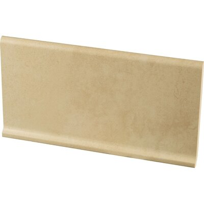 Studio 12 x 6 Cove Base Tile Trim in Canvas