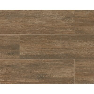 Sun Valley 8 x 24 Porcelain Wood Tile in Mountain