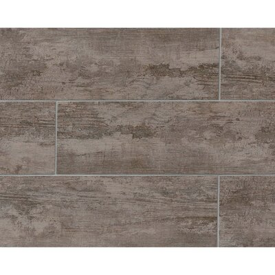 Sonoma 8 x 24 Porcelain Wood Tile in Estate