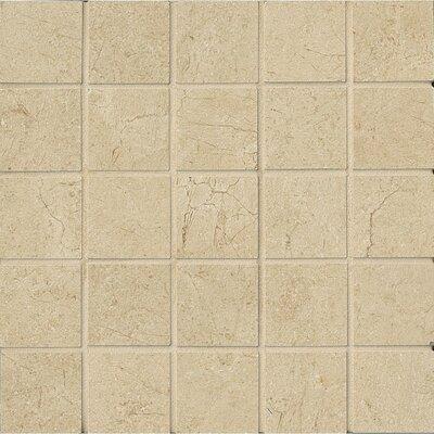 El Dorado 2 x 2 Porcelain Mosaic Tile in Sand