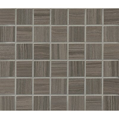 Rowe 1.5 x 1.5 Porcelain Mosaic Tile in Shadow