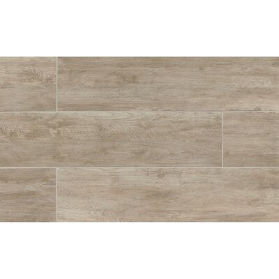 Santa Monica 8 x 36 Porcelain Wood Tile in Pico