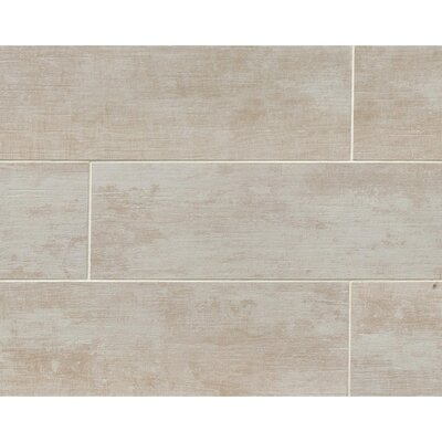 Sonoma 8 x 36 Porcelain Wood Tile in Mission