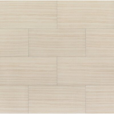 Rowe 12 x 24 Porcelain Field Tile in Natural Lappato Semi-Polished