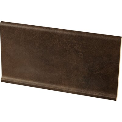 Studio 12 x 6 Cove Base Tile Trim in Espresso