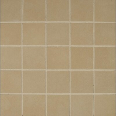 Studio 12 x 12 Porcelain Mosaic Tile in Canvas