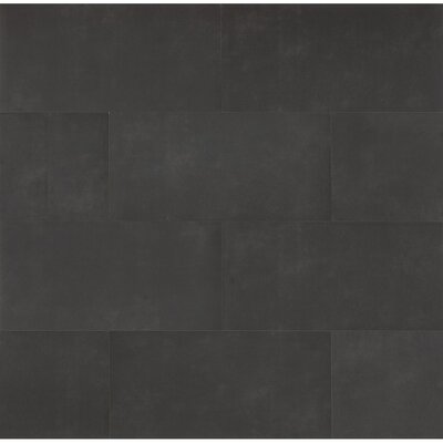Studio 12 x 24 Porcelain Field Tile in Midnight