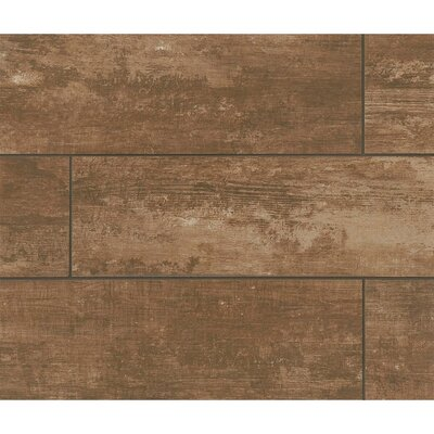 Sonoma 8 x 24 Porcelain Wood Tile in Manor