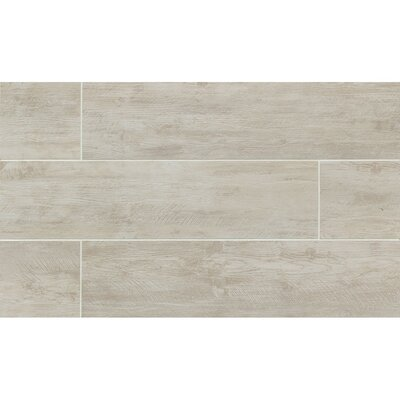 Santa Monica 8 x 36 Porcelain Wood Tile in Ocean Park