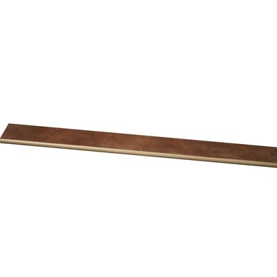Studio 24 x 3 Bullnose Tile Trim in Fondue
