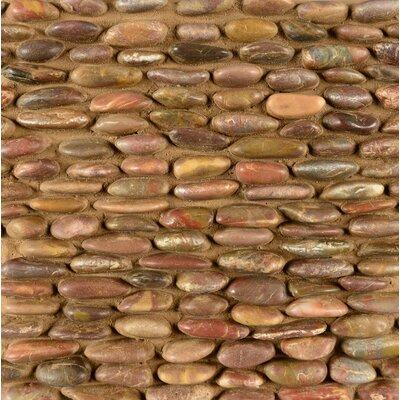 Sized Stone Pebble Tile in Ubud